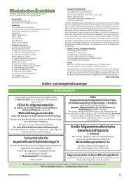 Rheinisches Ärzteblatt 12/2013 - Ärztekammer Nordrhein