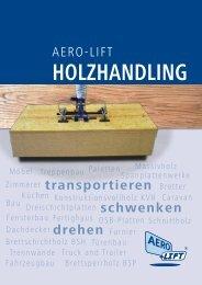 Die neue Holz-Broschüre - AERO-LIFT Vakuumtechnik GmbH