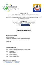 EN-Draft Programme Durres