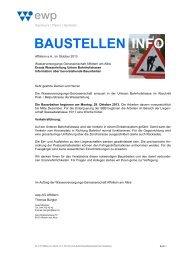 Baustelleninfo UntereBahnhofstrasse [PDF, 489 ... - Affoltern am Albis