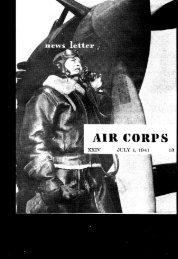 News Letter 1941 Jul-Dec - Air Force Historical Studies Office
