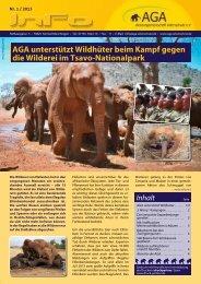 Rundschreiben 1/2013 - Aktionsgemeinschaft Artenschutz e.V.