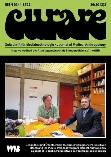 Curare 36(2013)3 - Arbeitsgemeinschaft Ethnomedizin