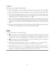 Klausur vom 4.3.2009