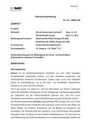 GA Zampro und Dash E.C. - BASF Pflanzenschutz Deutschland