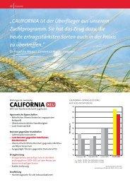 CALIFORNIA - AGRAVIS Raiffeisen AG