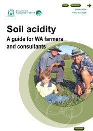 Soil acidity - Department of Agriculture and Food