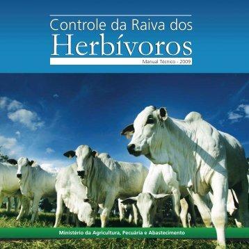 Manual Técnico para o Controle da Raiva em Herbívoros