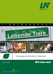 LFI - Tiertransport Broschüre 2012