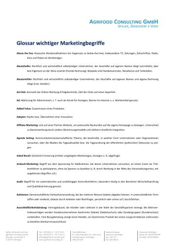 als pdf - Agrifood Consulting GmbH