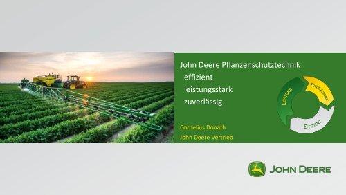 Automatische Teilbreitenschaltung - Agritechnica
