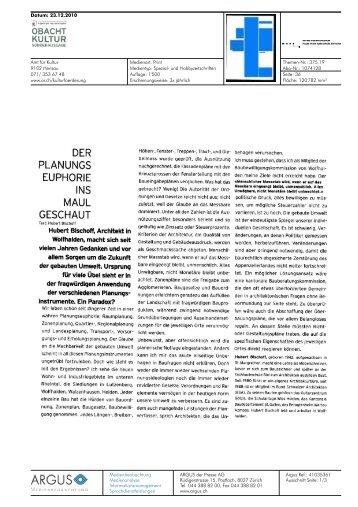PLANUNGS - Hochschule für Architektur, Holz und Bau AHB
