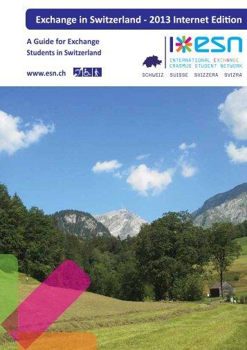 Erasmus booklet - Hochschule für Architektur, Holz und Bau AHB ...