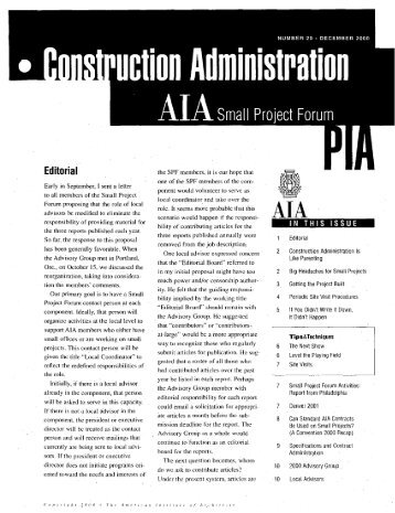 60 free Magazines from AIA.ORG
