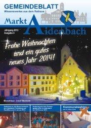 Nr. 4/2013 - Markt Aidenbach