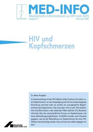Nr.57: HIV und Kopfschmerz - Deutsche AIDS-Hilfe e.V.