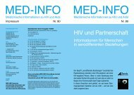 HIV und Partnerschaft Informationen für Menschen in ...