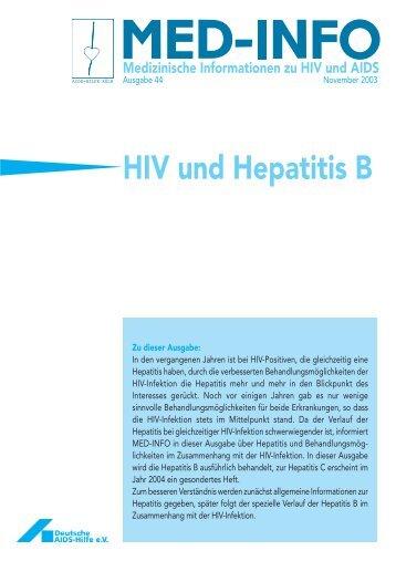 HIV und Hepatitis B - Aidshilfe Köln