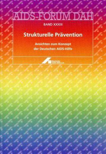 Strukturelle Prävention - Deutsche AIDS-Hilfe e.V.