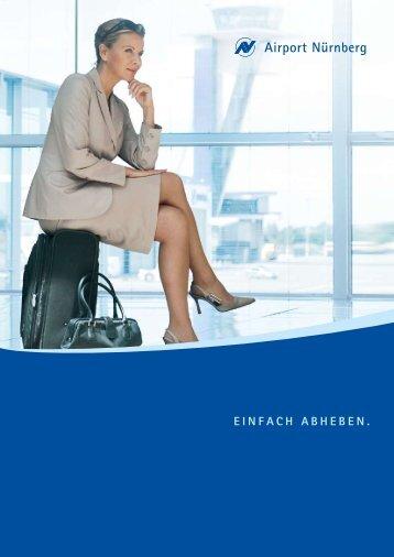 Image Präsentation (PDF; 1,46 MB) - Flughafen Nürnberg