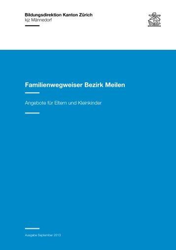Familienwegweiser Bezirk Meilen - Amt für Jugend und ...