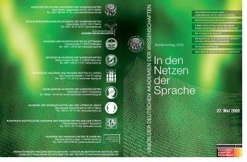 AT innenseiten - Union der deutschen Akademien der Wissenschaften