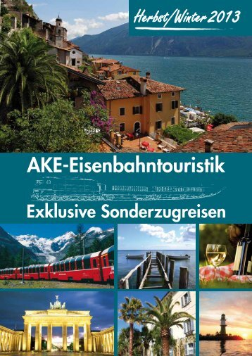 Mailing August 2013 - AKE-Eisenbahntouristik