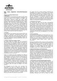 Akzo Nobel Allgemeine Einkaufsbedingungen 2004