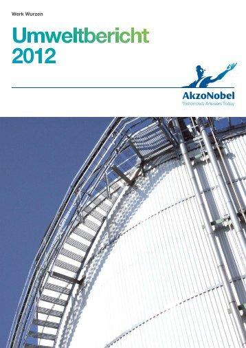 Umweltbericht Wurzen - AkzoNobel