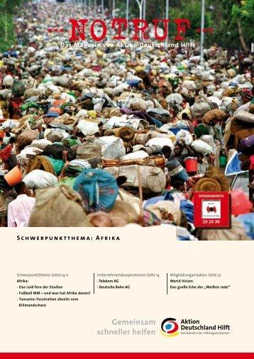 Thema: Afrika (PDF) - Aktion Deutschland Hilft