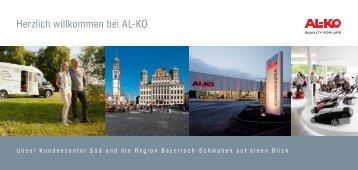 über unser Kundencenter Süd und die Region ... - AL-KO Kober AG