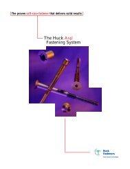 The Huck Asp® Fastening System - Alcoa