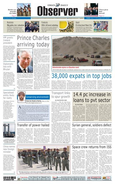38,000 expats in top jobs - Oman Daily Observer