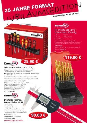 25 JAHRE FoRmAt - Alexander Erasmus GmbH&Co.
