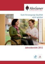 Jahresbericht 2012 - Alexianer Krefeld