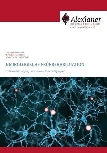 NEUROLOGISCHE FRÜHREHABILITATION - Alexianer Krefeld