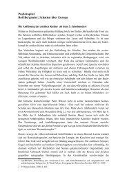 Probekapitel Rolf Bergmeier: Schatten über Europa