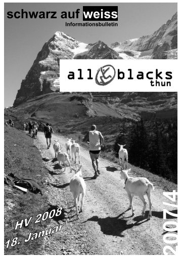Bulletin 04 / 07 - All Blacks Thun
