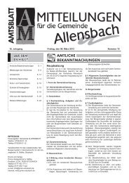 Ausgabe 09. März 2013 - KW 10 - Allensbach