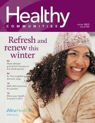 Winter 2013 - Allina Health
