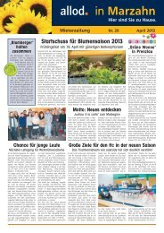 Ausgabe 20 - April 2013 - allod media C2 GmbH