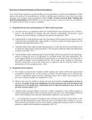 Key findings - ALNAP