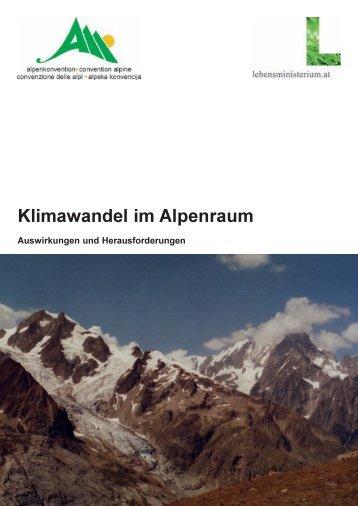 Klimawandel im Alpenraum (PDF)