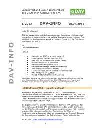 Newsletter Nr. 4.2013 - Landesverband Baden-Württemberg des ...
