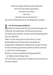 Aktuelles Programmheft 2013 (pdf) - DAV Sektion Schwaben