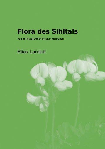 Flora des Sihltals - Amt für Landschaft und Natur - Kanton Zürich