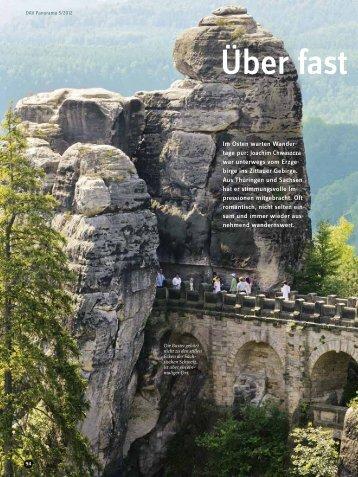 Panorama 5 2012 Reportage: Östliche Mittelgebirge - Deutscher ...