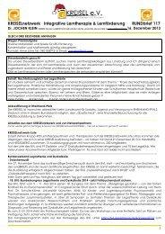 KREISELrundBRIEF - Bundesverband Alphabetisierung e.V.
