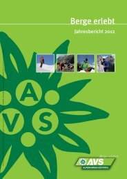 Jahresbericht 2012 - Alpenverein Südtirol