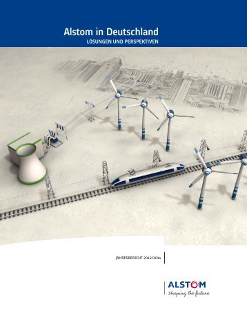 Alstom Deutschland Jahresbericht 2013-14